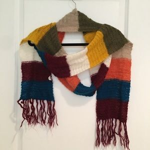 Old Navy Multi-Colored Shimmer Scarf